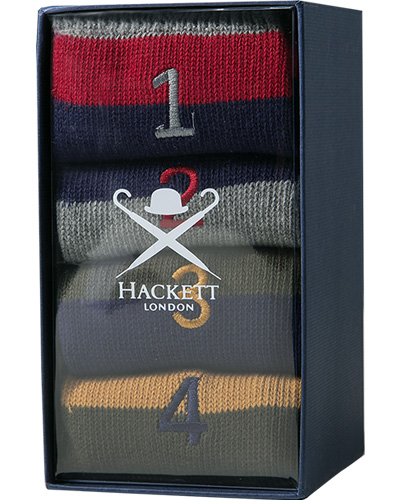 HACKETT Winter Striped Box Set HMU50309/0AA
