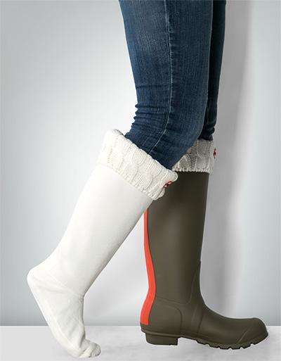 HUNTER Damen Boot Socks UAS3036AAB