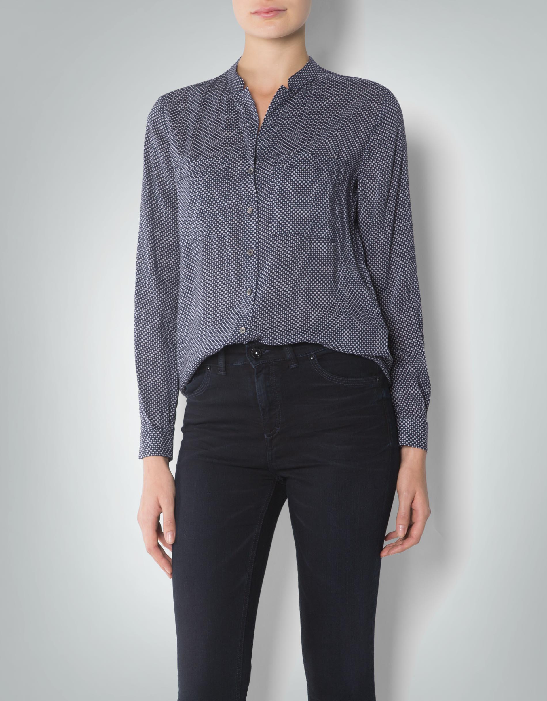 tommy hilfiger damen bluse mit mini dessin empfohlen von. Black Bedroom Furniture Sets. Home Design Ideas