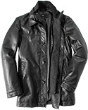 HUGO BOSS Lederjacke Armon 50296938/001