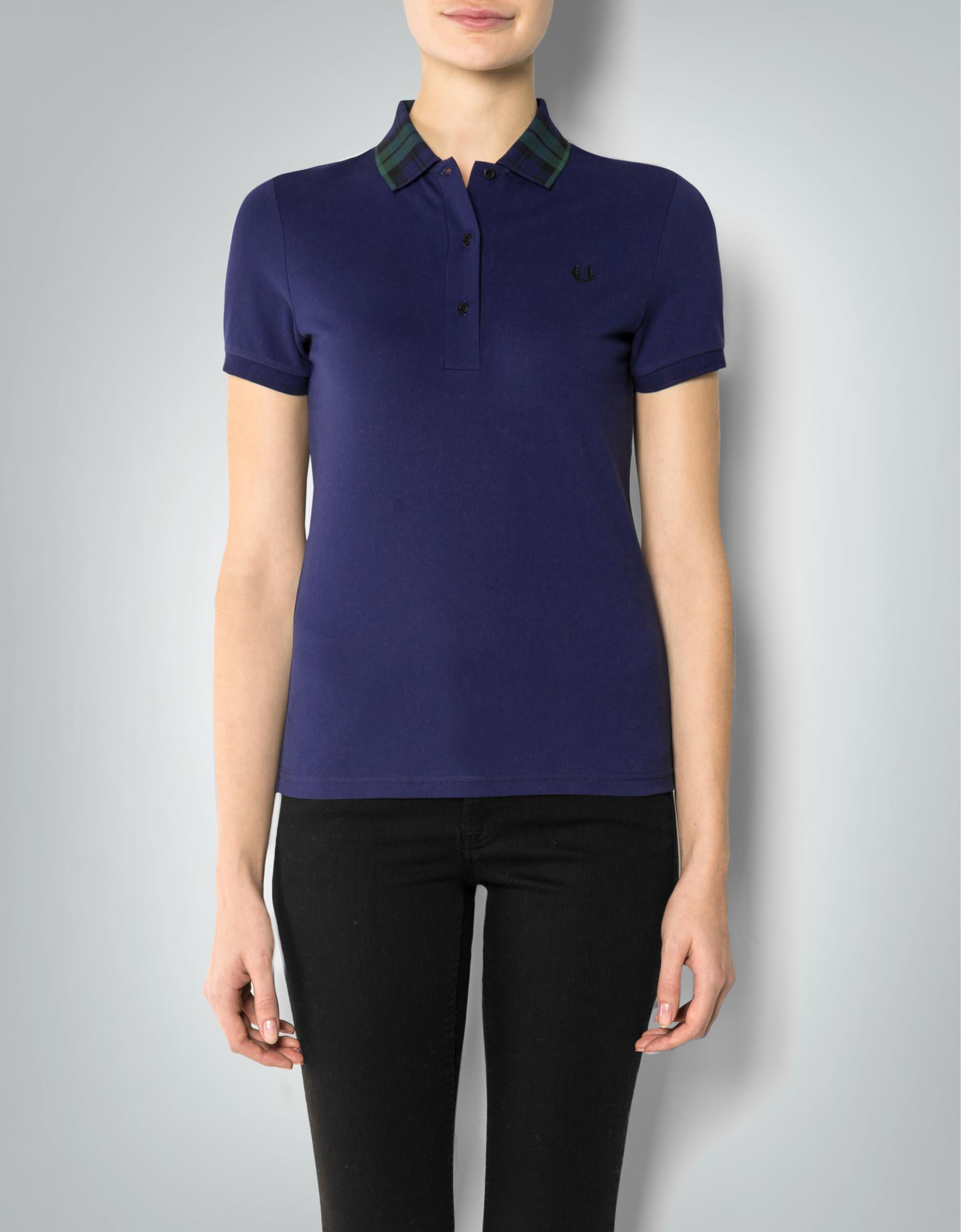 fred perry damen polo shirt mit kontrastkragen empfohlen. Black Bedroom Furniture Sets. Home Design Ideas