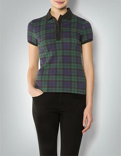 fred perry damen polo shirt im karo look empfohlen von. Black Bedroom Furniture Sets. Home Design Ideas