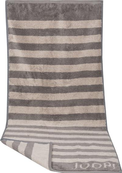 handtuch x cm grau gestreift von joop bei. Black Bedroom Furniture Sets. Home Design Ideas