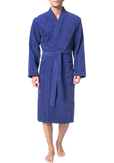 joop bademantel kimono in blau. Black Bedroom Furniture Sets. Home Design Ideas
