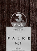 Falke Merino Wool Socken No.7 3er Pack 14449/5930