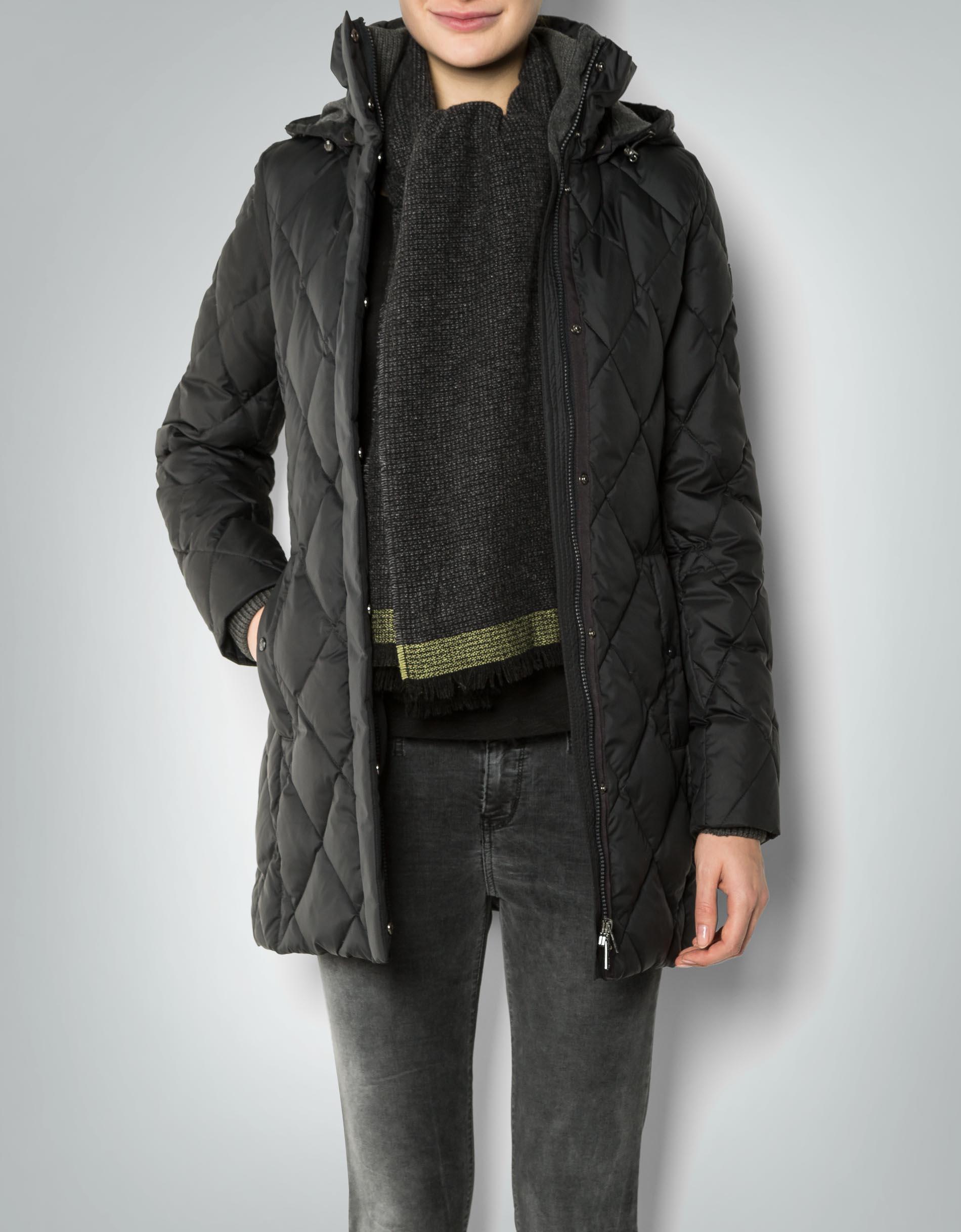 Marc O'Polo Damen Mantel Kapuzen mit abnehmbarem