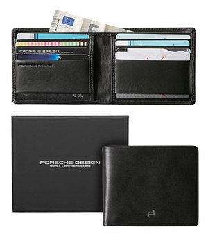 porsche design card holder in schwarz. Black Bedroom Furniture Sets. Home Design Ideas