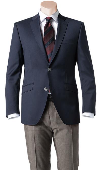 blazer sakko shape fit schurwolle dunkelblau von roy robson bei. Black Bedroom Furniture Sets. Home Design Ideas