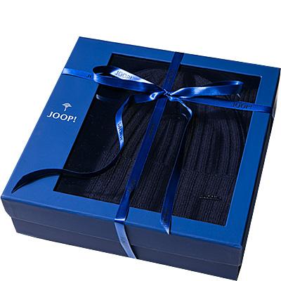joop set schal m tze blau schurwolle klassisch. Black Bedroom Furniture Sets. Home Design Ideas