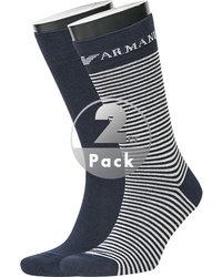 EMPORIO ARMANI Socken 2er Pack