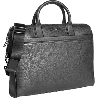 hugo boss tasche traveller in schwarz. Black Bedroom Furniture Sets. Home Design Ideas