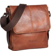 bugatti Grinta Messenger Bag cognac