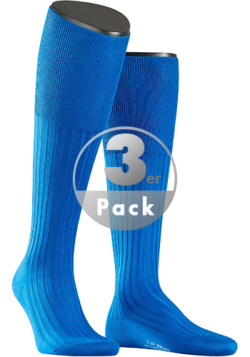 Falke Luxury Kniestrumpf No.13 3er Pack 15669/6940