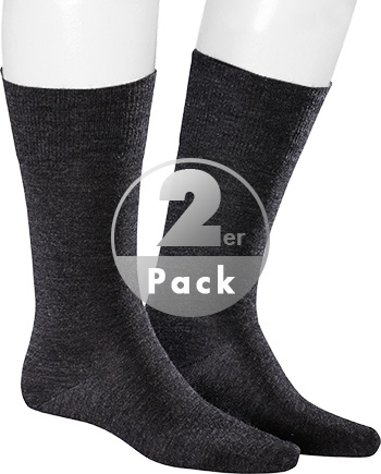 Kunert Men Socken Comfort W. 2er Pack 877600/4050