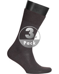 bugatti Pure Merino Socken 3er Pack