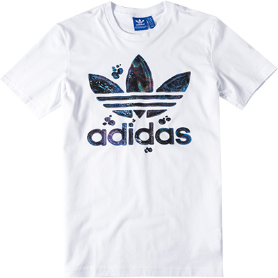 adidas ORIGINALS T-Shirt white AJ7113