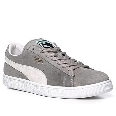 Puma Suede Classic Schwarz Grau