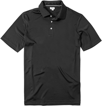 ASHWORTH EZ-SOF Solid Golf Shirt black B83717