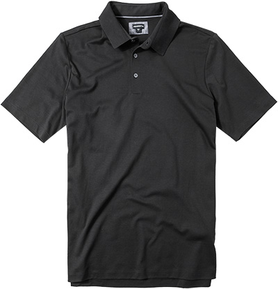 ASHWORTH Polo-Shirt black B88185