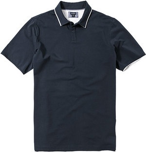 ASHWORTH Polo-Shirt navy