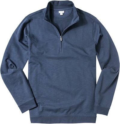 ASHWORTH French Half-Zip Pullover navy AE4405