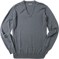 ASHWORTH V-Pullover grey