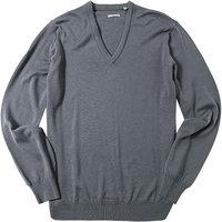 ASHWORTH V-Pullover grey