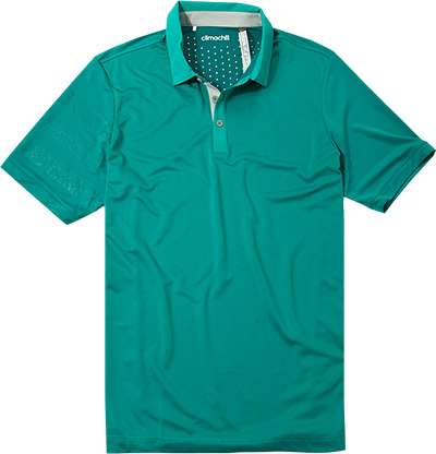 adidas Golf Climachill Polo eat green AE6180