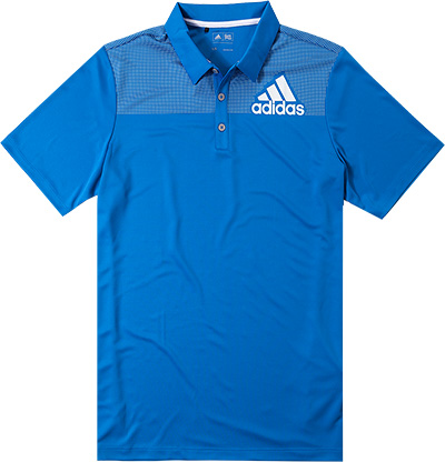adidas Golf Badge Polo shock blue AE4115