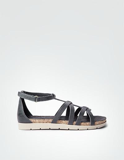panama jack damen marisa jeans sandalen mit klettriegel empfohlen von deinen schwestern. Black Bedroom Furniture Sets. Home Design Ideas