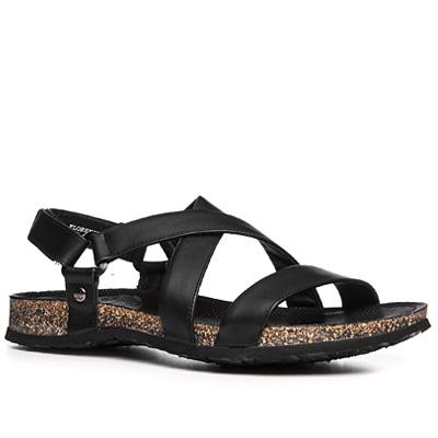 florence sandalen nappaleder schwarz von panama jack bei. Black Bedroom Furniture Sets. Home Design Ideas