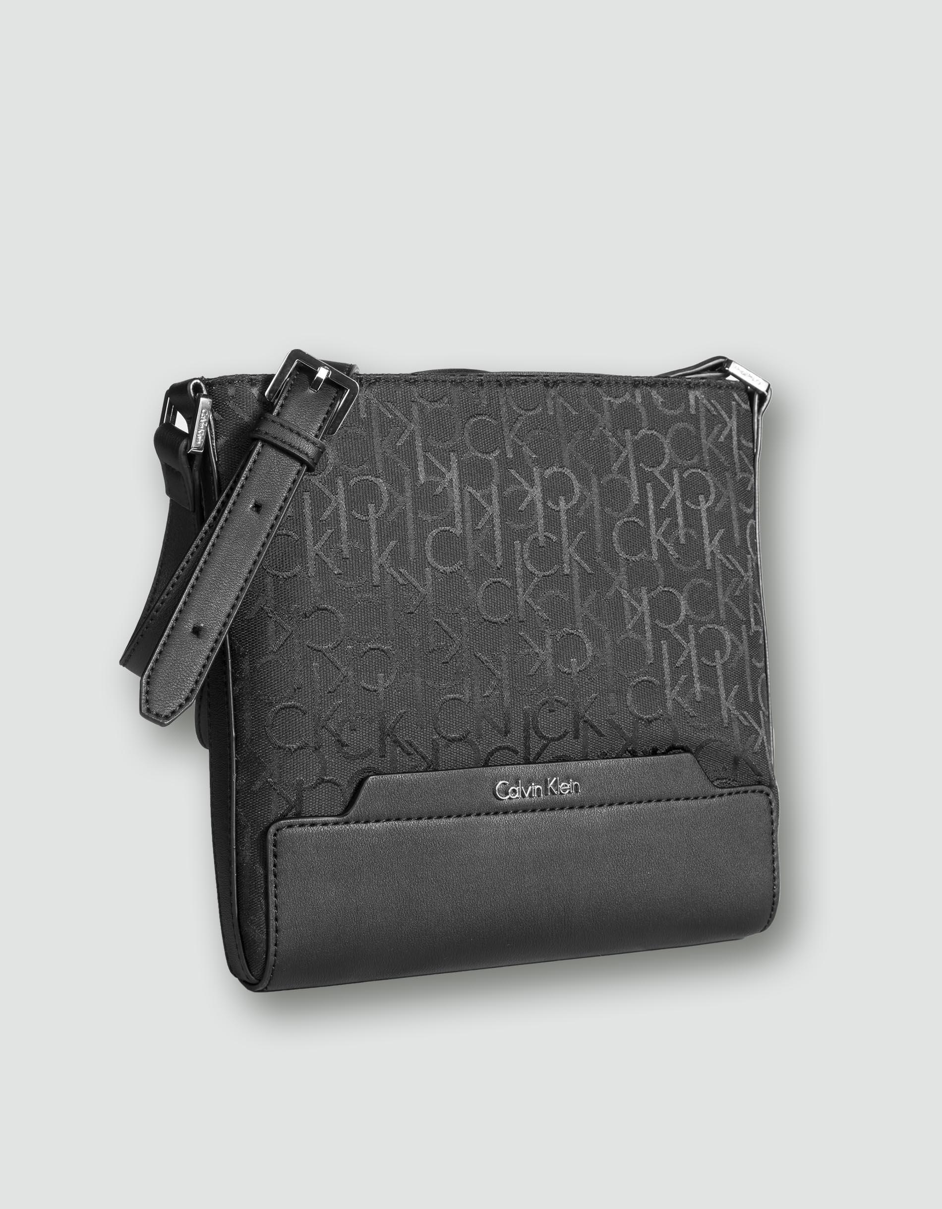 calvin klein jeans damen tasche schulter aus image gewebe. Black Bedroom Furniture Sets. Home Design Ideas