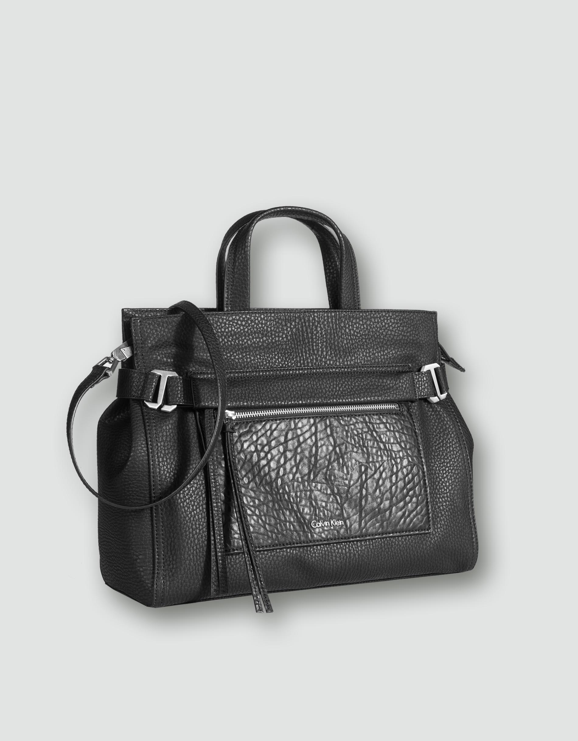 calvin klein jeans damen tasche tote bag mit abnehmbarer. Black Bedroom Furniture Sets. Home Design Ideas