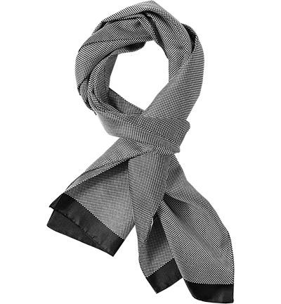 ETON Schal : ETON Schal  Herren in schwarz aus Seide