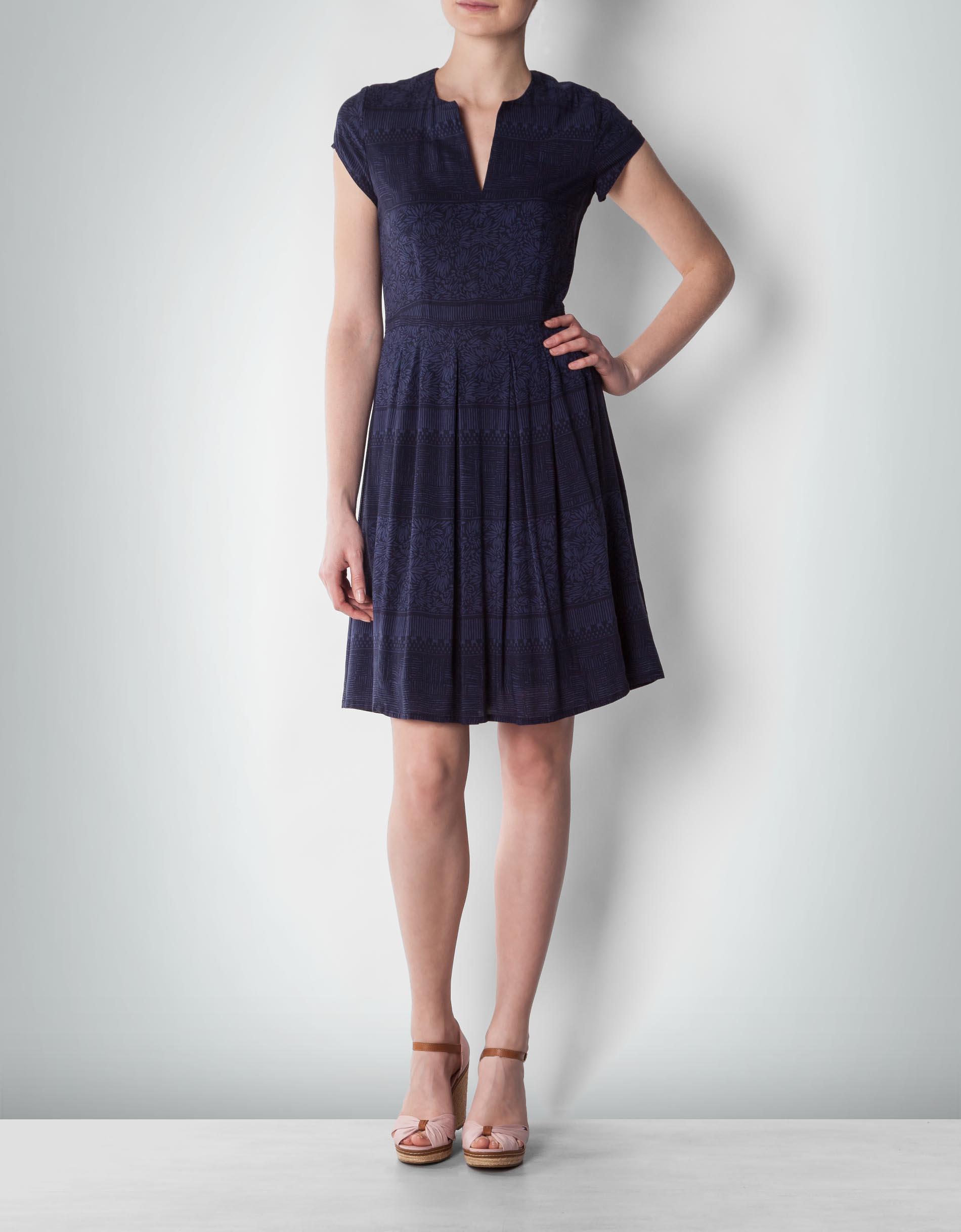 marc o 39 polo damen kleid mit angesetztem faltenrock. Black Bedroom Furniture Sets. Home Design Ideas