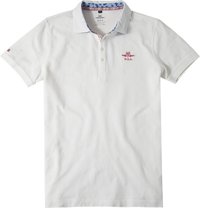 N.Z.A. Polo-Shirt 16BN153S/cream ecru