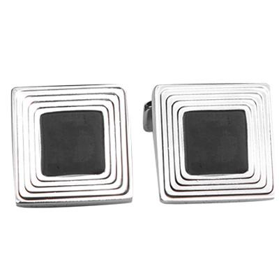 manschettenkn pfe gil messig silber schwarz von hugo boss. Black Bedroom Furniture Sets. Home Design Ideas