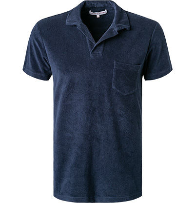 Orlebar Brown Terry Polo-Shirt navy 250118