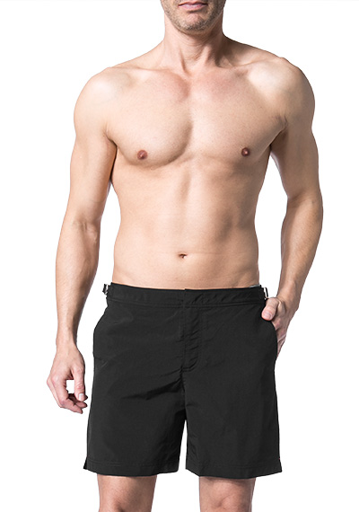 Orlebar Brown Bulldog Badeshorts black 250025