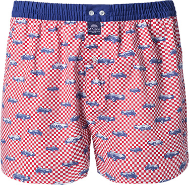 MC ALSON Boxer-Shorts 3361/rot