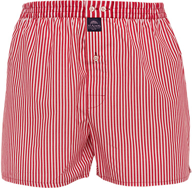 MC ALSON Boxer-Shorts 0237/rot