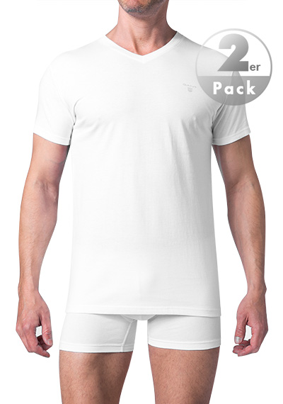 Gant Essential Basic 2-P V-neck T-shirt 2118