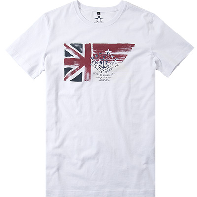 N.Z.A. T-Shirt 16CN715/pure white
