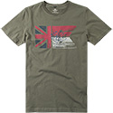 N.Z.A. T-Shirt 16CN715/army green