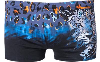 bruno banani shorts tiger king in blau. Black Bedroom Furniture Sets. Home Design Ideas
