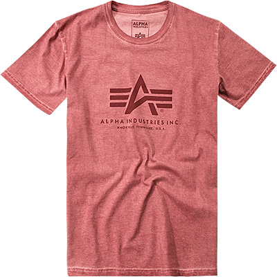 ALPHA INDUSTRIES Oil Dye BasicT T-Shirt 158501/184