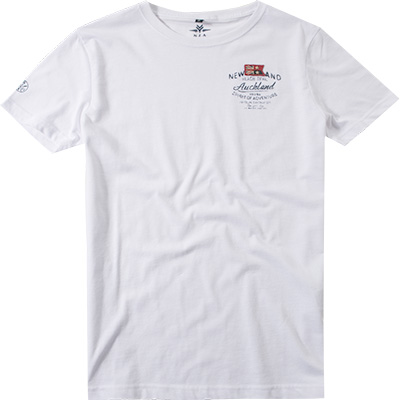 N.Z.A. T-Shirt 16CN720C/pure white