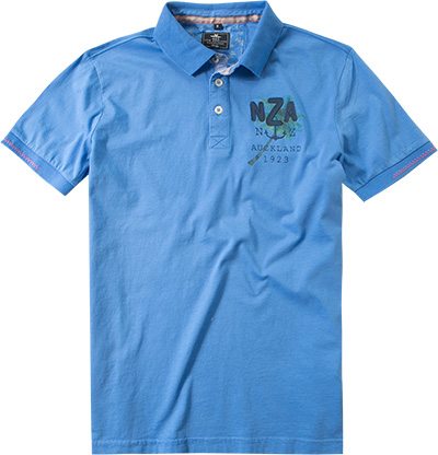 N.Z.A. Polo-Shirt 16CN113S/blue lagoon