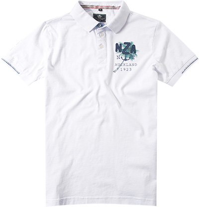 N.Z.A. Polo-Shirt 16CN113S/pure white