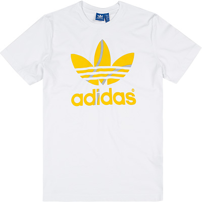 adidas ORIGINALS T-Shirt white AJ7107